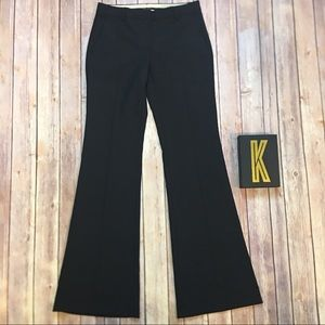 THEORY Black Flare Pants Size 2